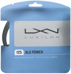 Luxilion ALU Power 125 Tennis Racquet String Set