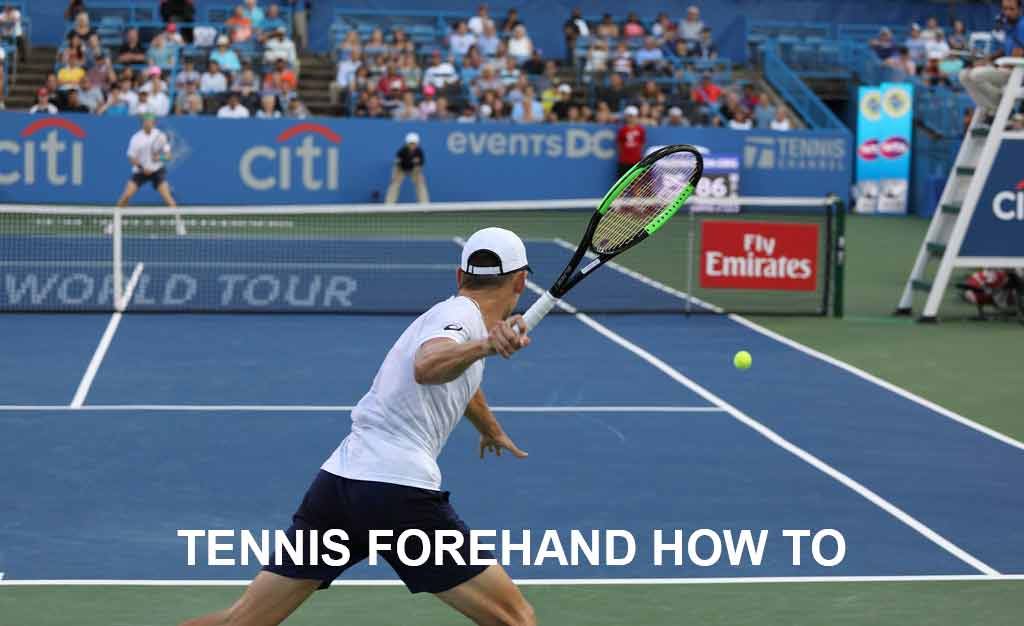 Tennis Forehand How to